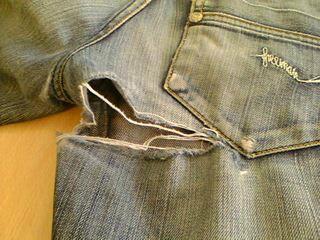 Accroc jean