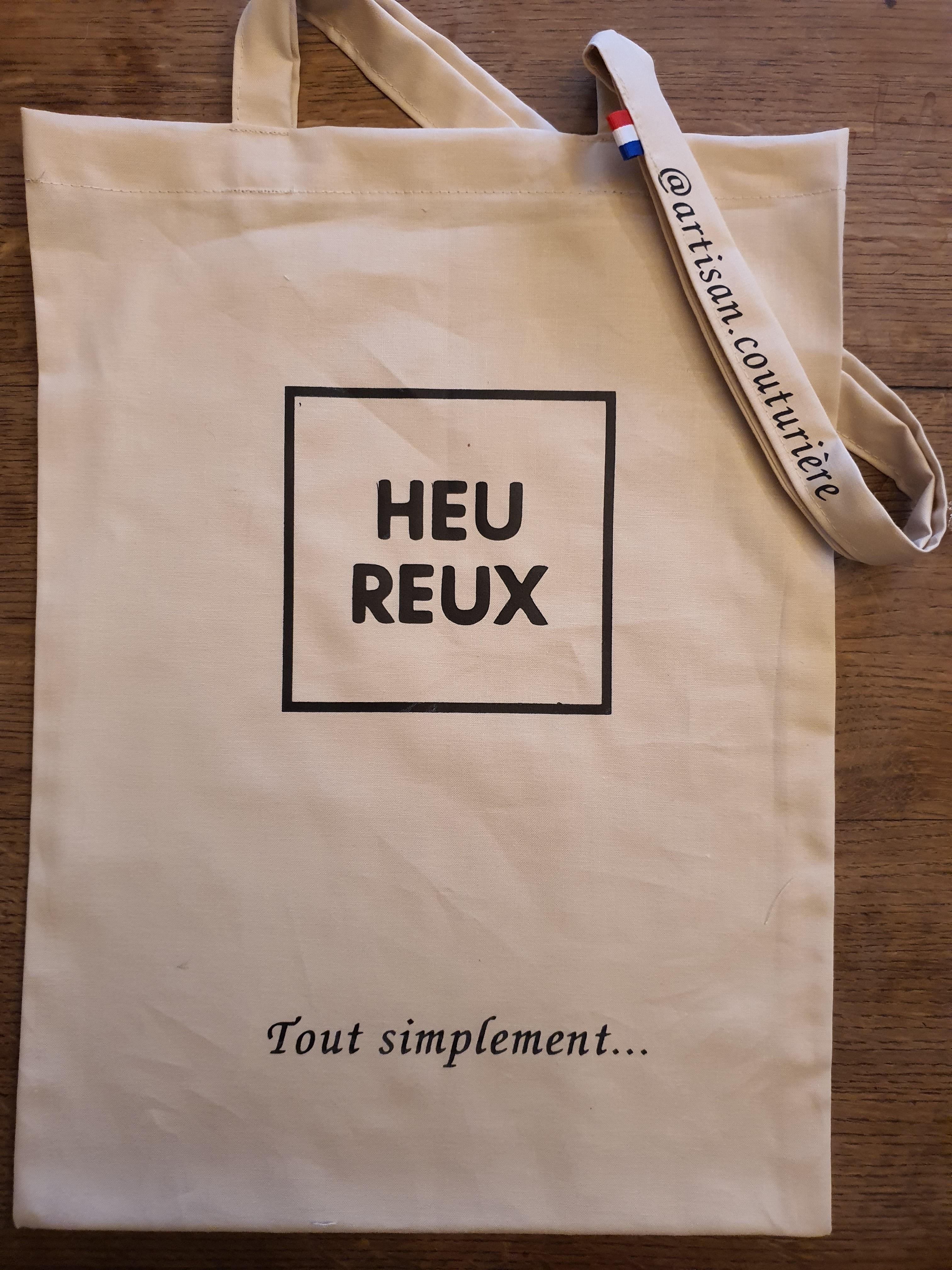 sac imprimé HEU REUX