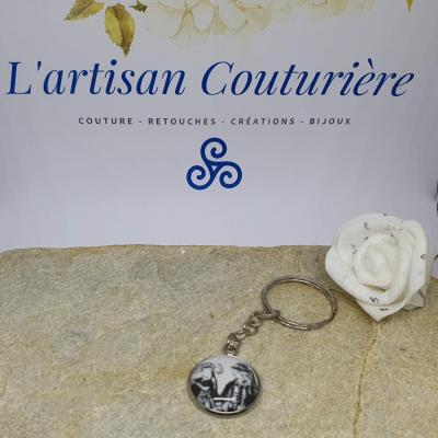 Porte-clés couple breton