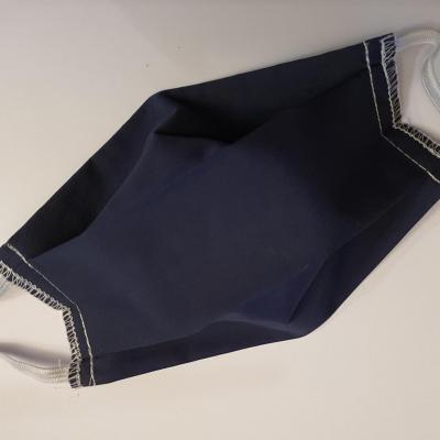 Masque uni bleu marine