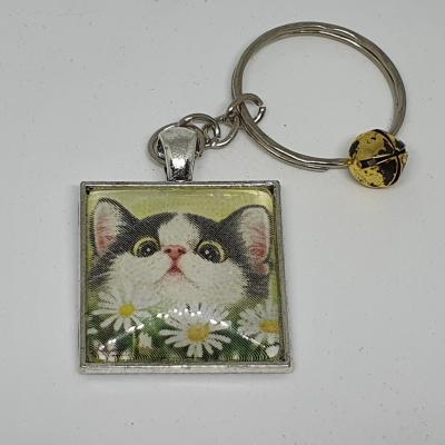 Porte-clé chat